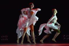 O grupo aberto da dança do ` s das crianças da dança Festival-2016 executa eslavo Imagem de Stock Royalty Free