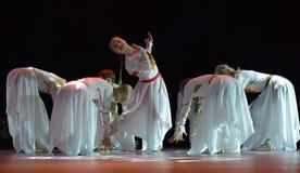 O grupo aberto da dança do ` s das crianças da dança Festival-2016 executa eslavo Fotografia de Stock