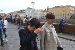 O grupo da realidade de Florença de China era é nós que vamos, paizinho Imagem de Stock