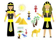 O grupo de Egito Foto de Stock