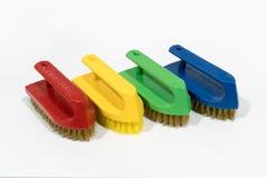 O grupo de esfrega a escova Fotografia de Stock