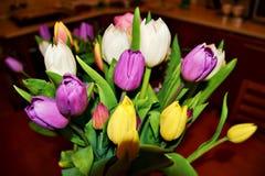 O grupo de flores colorido o mais bonito para o aniversário fotos de stock royalty free
