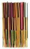 O grupo de incenso colorido cola a aromaterapia Imagens de Stock Royalty Free
