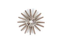 O grupo de nozzels variáveis a usar-se com uma chave de fenda arranja no ci Imagens de Stock Royalty Free