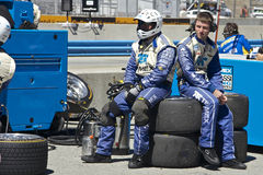O grupo de poço @ AM grande Rolex compete o @Mazda Laguna Seca imagem de stock royalty free