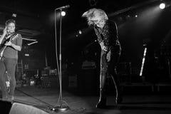 O grupo de rock das matanças executa no concerto no clube do Razzmatazz Imagem de Stock Royalty Free