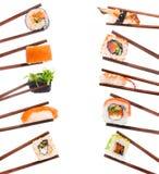 Grupo de sushi Foto de Stock Royalty Free