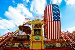 Balanços da feira de divertimento Imagem de Stock Royalty Free