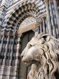 O guardião da catedral Fotos de Stock Royalty Free