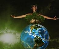 O guardião de nossa natureza Foto de Stock Royalty Free