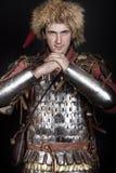 O guerreiro está pronto para a luta fotografia de stock royalty free