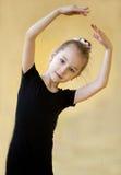 O gymnast novo Fotografia de Stock Royalty Free
