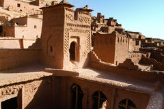 O haddou de Kasbah AIT ben, Marrocos Fotos de Stock Royalty Free