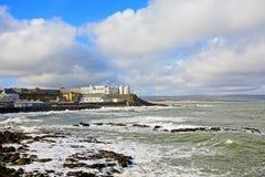 O'Hara's Castle Portstewart, Northern Ireland Stock Photography