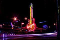 O Hard Rock Café imagens de stock
