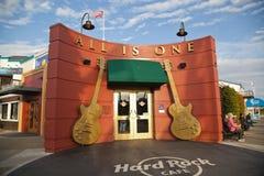 O Hard Rock Café em San Francisco fotografia de stock royalty free