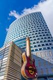 O Hard Rock Café em Varsóvia Fotografia de Stock Royalty Free