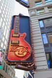 O Hard Rock Café, NYC Fotografia de Stock