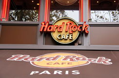 O Hard Rock Café Paris Foto de Stock Royalty Free