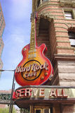 O Hard Rock Café, Philadelphfia Foto de Stock