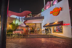 O Hard Rock Café Foto de Stock Royalty Free