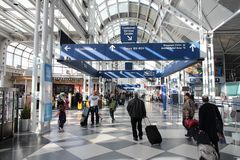 O'Hare Airport Royalty Free Stock Photos