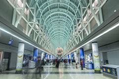 O'Hare airport in Chicago Royalty Free Stock Photo