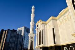 O Hazret Sultan Mosque Foto de Stock