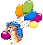 O hedgehog alegre Imagens de Stock Royalty Free