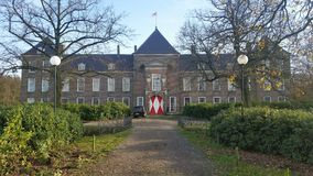 O heeze do castelo construiu 1665 fotografia de stock