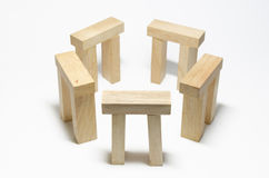 O henge de madeira Imagem de Stock Royalty Free