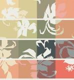 O hibiscus floresce o teste padrão sem emenda Fotos de Stock Royalty Free