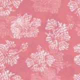 O hibiscus floresce o teste padrão sem emenda macio Fotografia de Stock Royalty Free