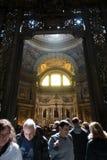O ` histórico de San Gennaro dos di do domo do ` da catedral Imagem de Stock