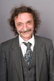O homem alegre com moustaches Imagem de Stock