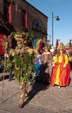 O homem da baga, festival da abundância de outubro, Londres Fotos de Stock