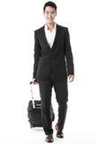 O homem de negócios de viagem Fotografia de Stock Royalty Free
