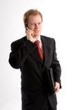 O homem de negócios novo Fotografia de Stock Royalty Free