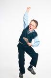 O homem de negócios pequeno Imagem de Stock Royalty Free