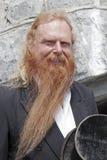 O homem do hurdy-gurdy Imagem de Stock Royalty Free