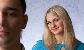 O homem e a mulher Imagem de Stock