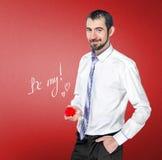 O homem faz uma proposta de união Fotografia de Stock Royalty Free