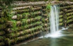 O homem fez a cachoeira Fotografia de Stock Royalty Free