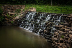 O homem fez a cachoeira Fotos de Stock Royalty Free