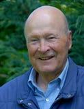 O homem idoso de sorriso Imagens de Stock Royalty Free