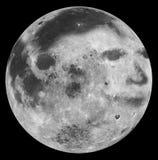O homem na lua Fotografia de Stock Royalty Free