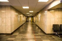 O hospital abandonado Foto de Stock Royalty Free