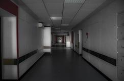 O hospital abandonado Imagens de Stock
