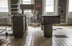 O hospital abandonado Foto de Stock