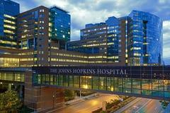 O hospital de Johns Hopkins fotografia de stock